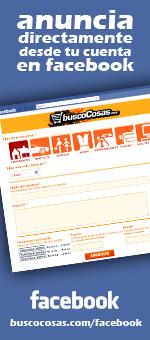 buscoCosas.com en facebook